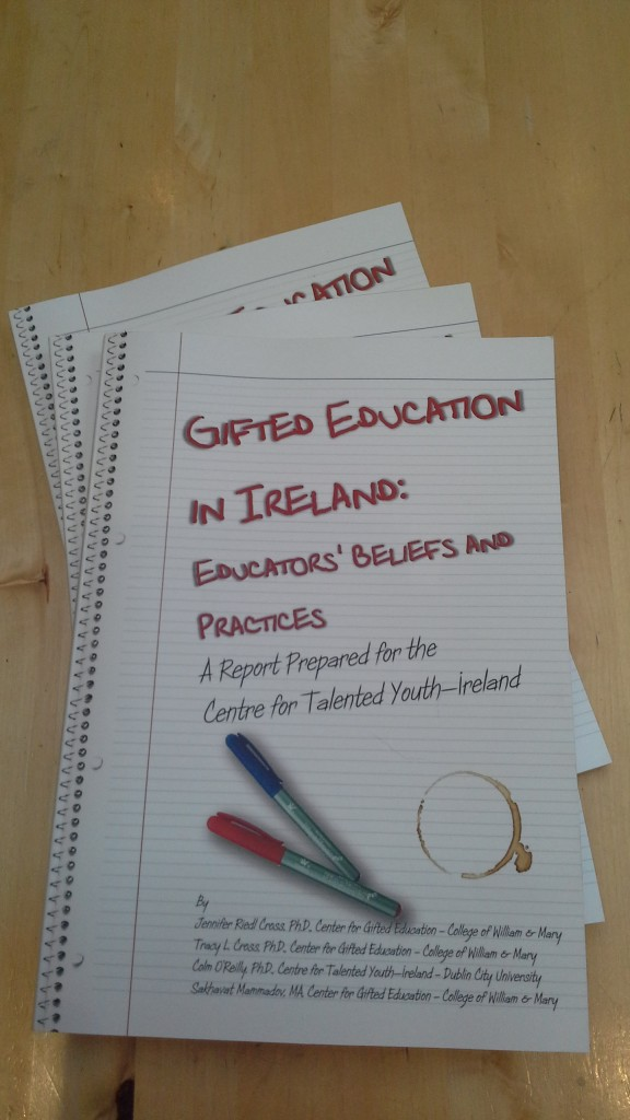 Gifted Education in Ireland Study 2014