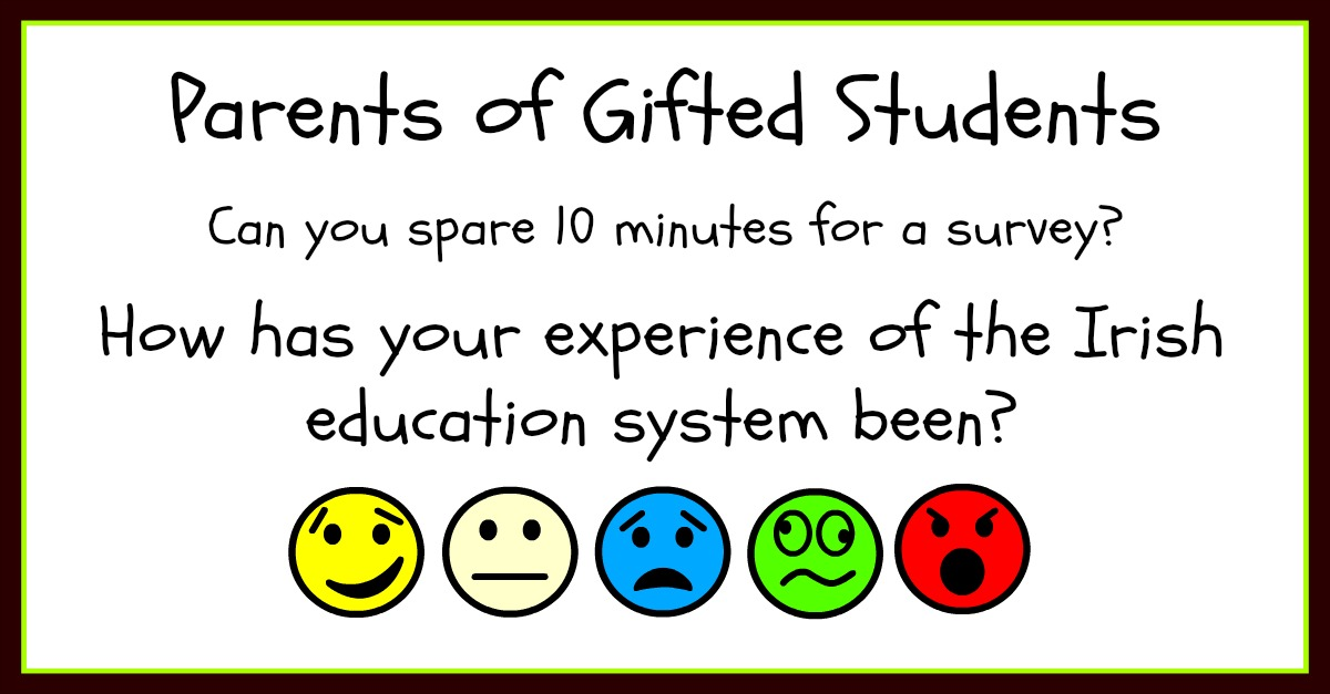 Survey for parents of gifted students