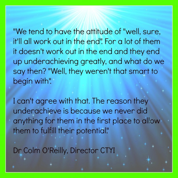 Quot by Dr Colm O'Reilly